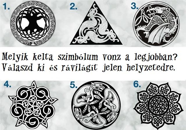 Válassz egy kelta jelképet, hogy megtudd, mit üzennek Neked a tündérek!