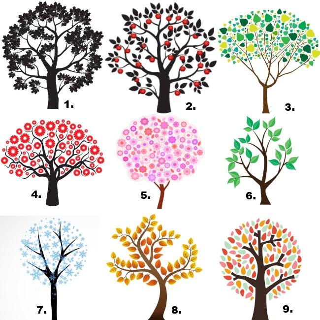 Válassz egyet a 9 angyali fa közül