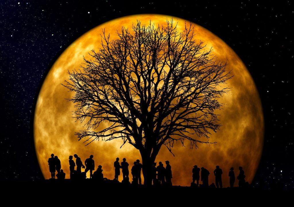 Telihold, Vörös Hold és elengedés az Áramlás szolgálatában június 28-június 30