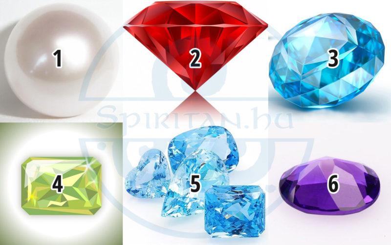 Válassz ki egy drágakövet, hogy megtudd, milyen erő rejtezik Benned!