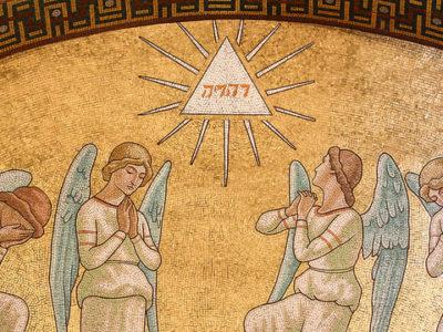 A Tetragrammaton az angyalaival