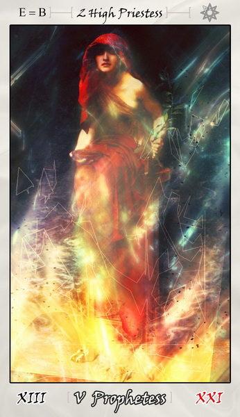 A Prófétanő Spirituális rejtett tudás. Előrelátás. Jövendő. Megérzés.