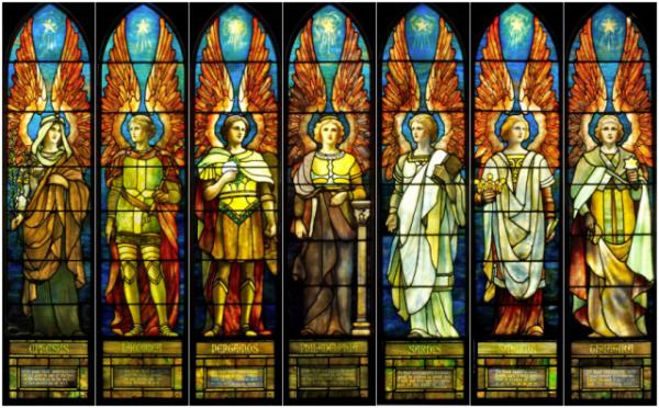A hét arkangyal, akik a 72 nevet őrzik