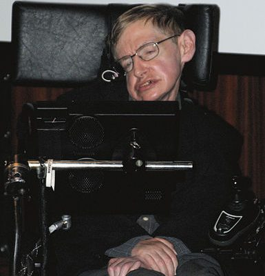 Stephen Hawking korunk Einsteinje élete felét mozgáskorlátozottként töltötte