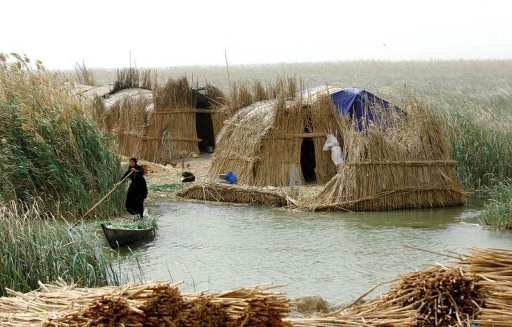 Mezopotámia nagy része mocsaras, ártéri terület volt.