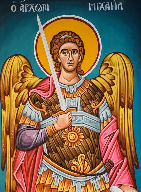 Mihály (Míkhá'él) arkangyal az angyalmágiában