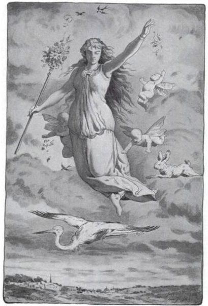 A termékenység szász istennője, Eostre