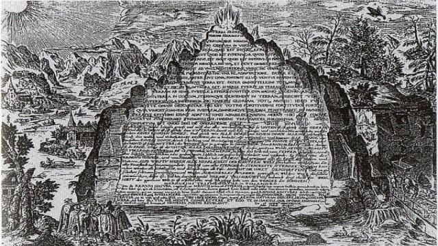 Nagy Sándor idejében találták meg Hermész Triszmegisztosz sírját, a hagyományok szerint múmiájának kezében a híres Tabula Smaragdinával, melyen a bölcsek kövének titka olvasható jelképes megfogalmazásban.