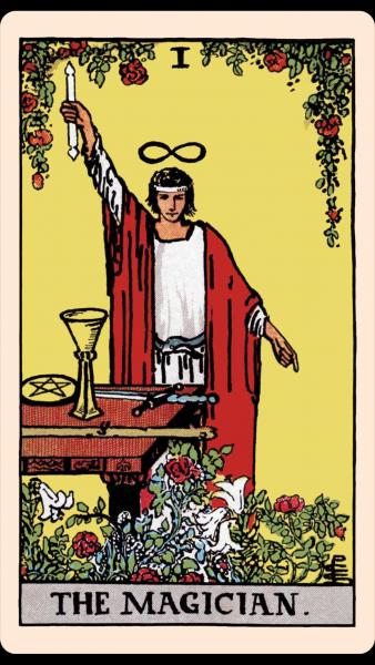 Tarot Iskola 4: Nagy Arkánum 1. A Mágus