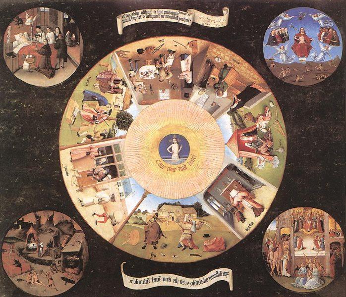 Hieronymus Bosch: A 7 halálos bűn