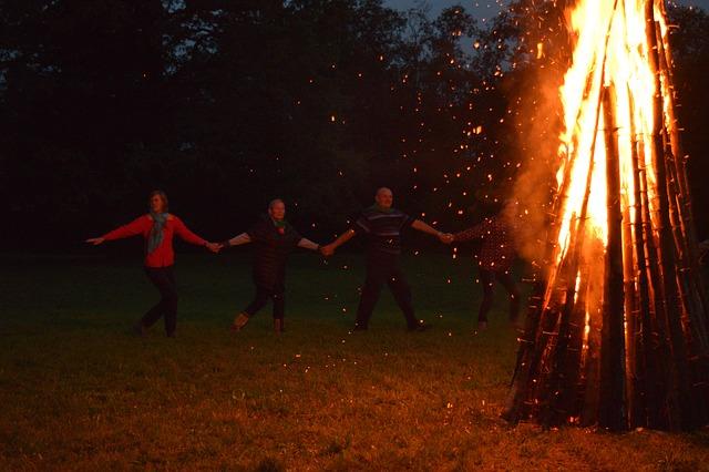 Bealtaine ünnepe a tűz ünnepe is