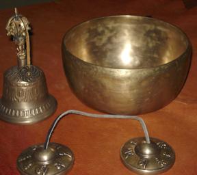 Tibeti idiofon hangszerek