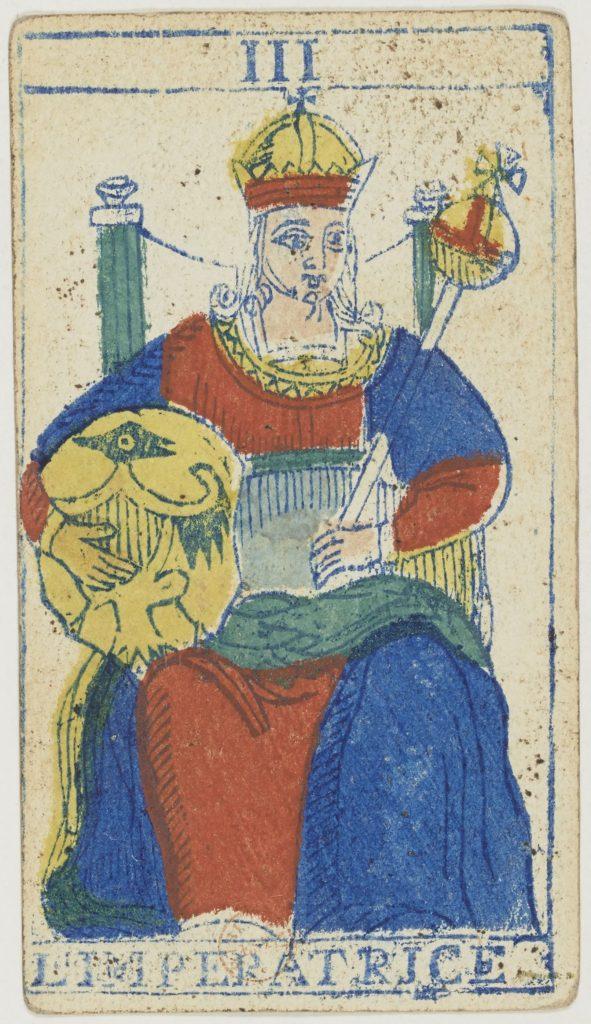 Piedmontese Tarot - Az Uralkodónő