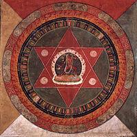 """A phönben minden férfi isten Senhlá Ökár emanációja, míg a női istenségek Szátikh Erszáng a """"Nagy anya"""" kisugárzódásai."""