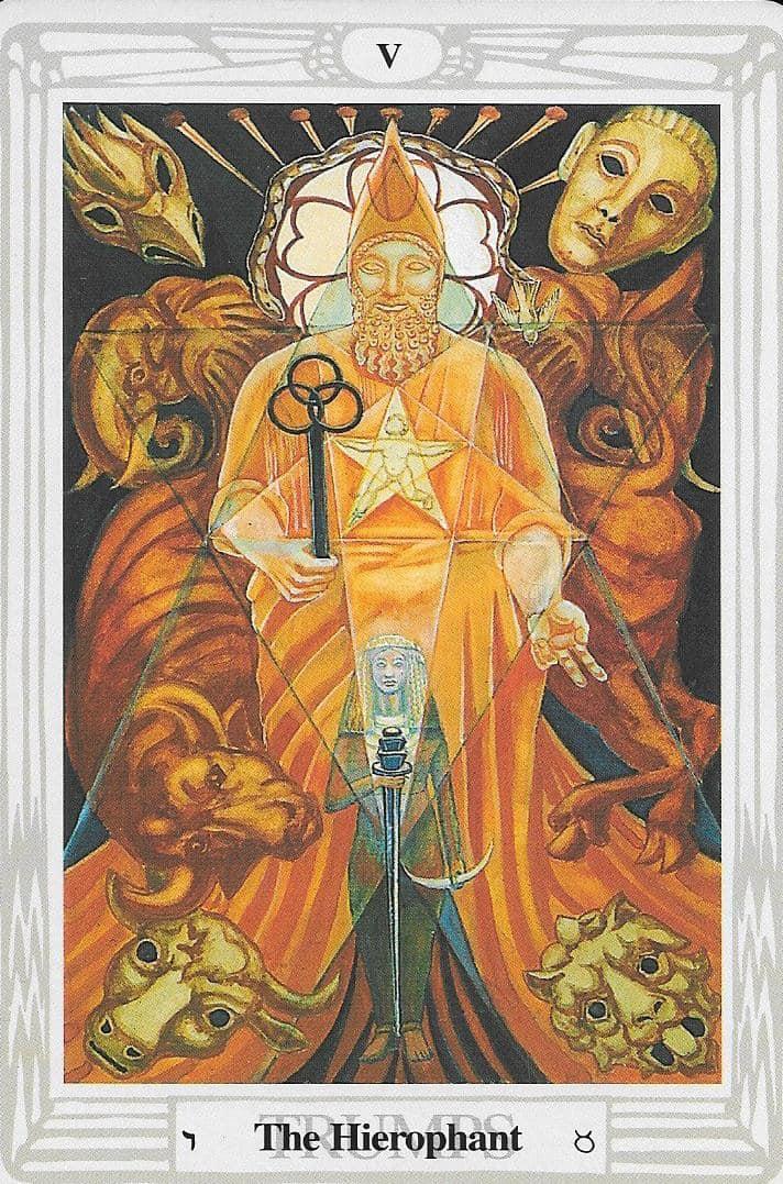 A Főpap - Crowley Tarot