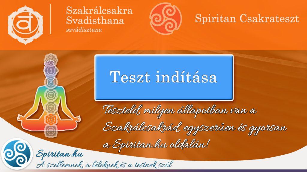 Csakrateszt 2.: Szakrálcsakra (Svadisthana csakra)
