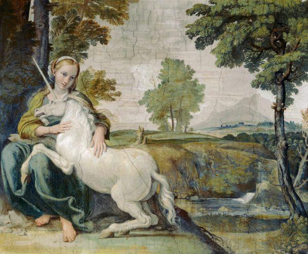 Unikornis, egyszarvú: a Természet erejét megtestesítő égi ló
