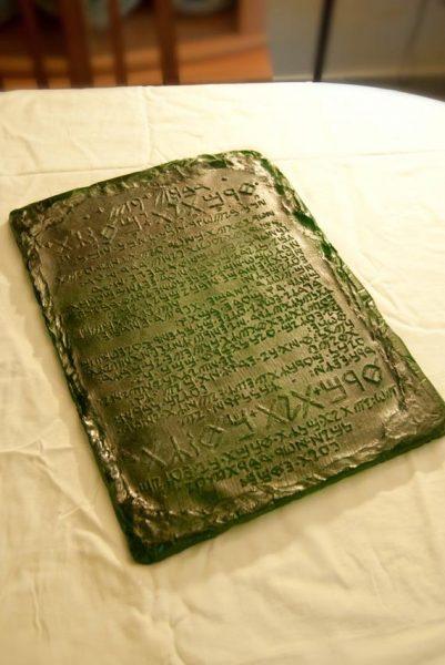 Hermész Smaragdtáblájának eredete