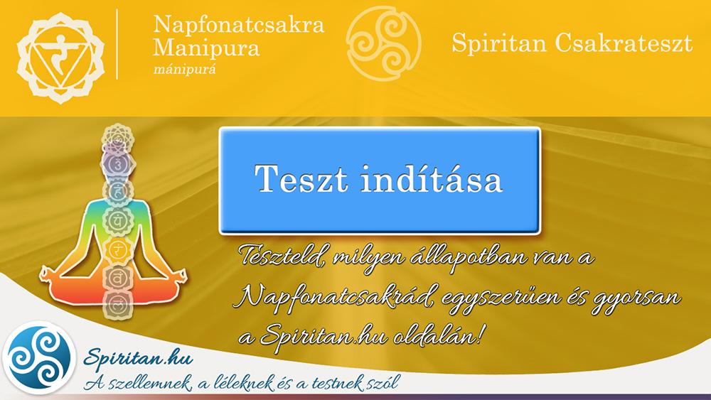 Csakrateszt 3.: Napfonatcsakra (Manipura Csakra)