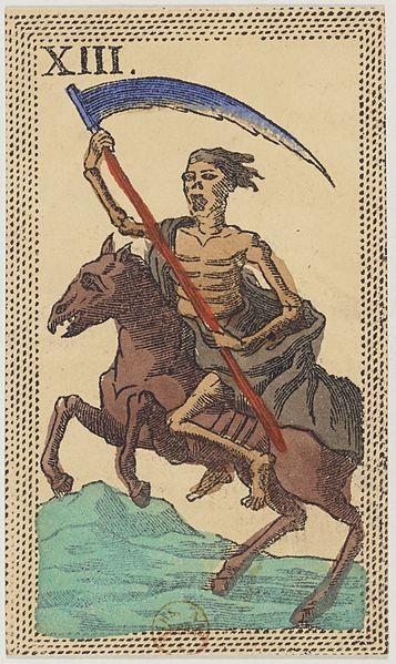 Minchiate Tarot, XIII Halál