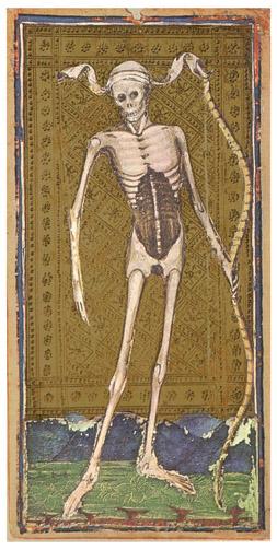 Visconti-Sforza Tarot, XIII Halál