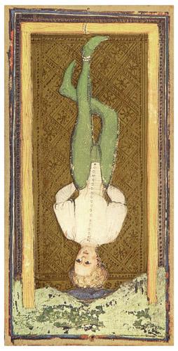 Visconti Sforza Tarot - Akasztott ember