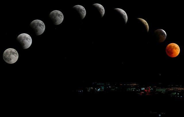 Holdfogyatkozás, Vérhold és elengedés az Áramlás szolgálatában Január 20-21