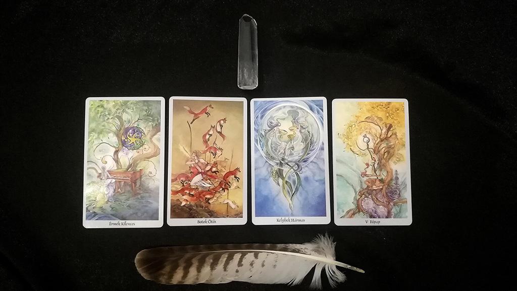 Spiritan Tarot jóslás