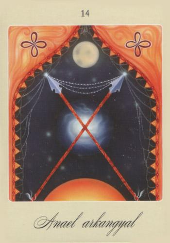 Negyedik angyalkártya: Anael arkangyal