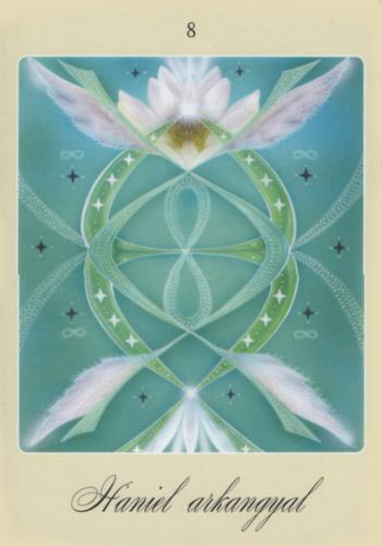 Első angyalkártya: Haniel arkangyal