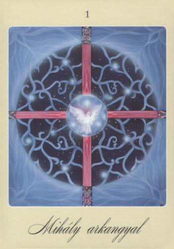 Első angyalkártya: Mihály arkangyal
