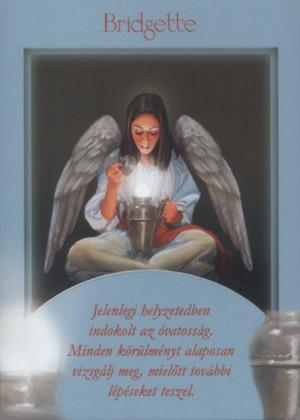 Második Mihály Arkangyalkártya: Bridgette