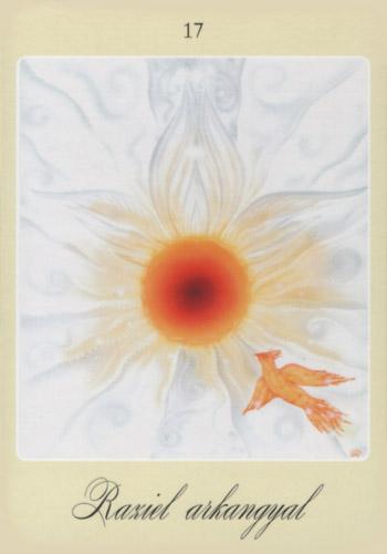 Harmadik angyalkártya: Raziel arkangyal