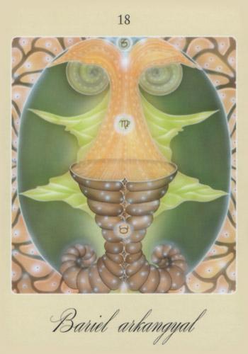 Második angyalkártya: Bariel arkangyal