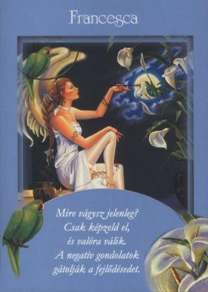 Első angyalkártya: Francesca