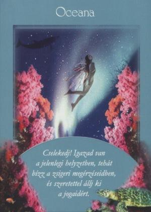 Első angyalkártya: Oceana