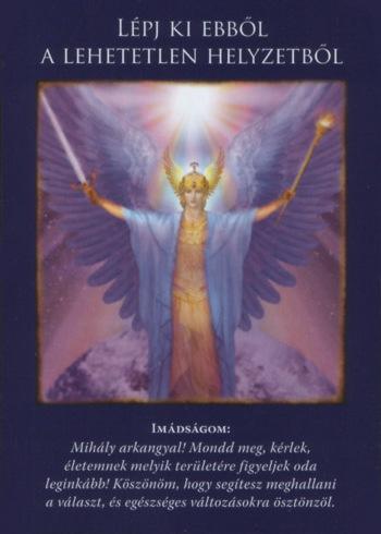 Második Mihály Arkangyalkártya: Lépj ki ebből a lehetetlen helyzetből