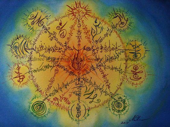 A fénynyelv/fény nyelv alapjai - a tudat tiszta nyelve