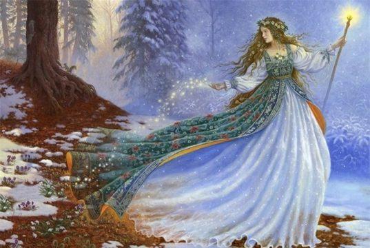 Színeváltozás ünnepe: Imbolc, Gyertyaszentelő február 1-2.
