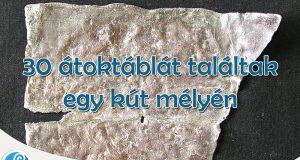 30 átoktáblát találtak egy athéni kútban - még mindig hatnak?